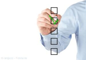 Ferien-Checkliste für die Wahl Ihre Hotels oder Ferienangebotes