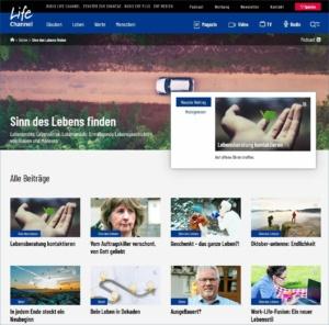 Den Sinn des Lebens finden: Mehr Beiträge auf Lifechannel.ch
