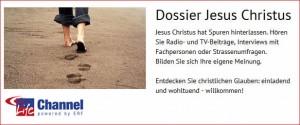 Radio- und TV-Sendungen über Jesus Christus