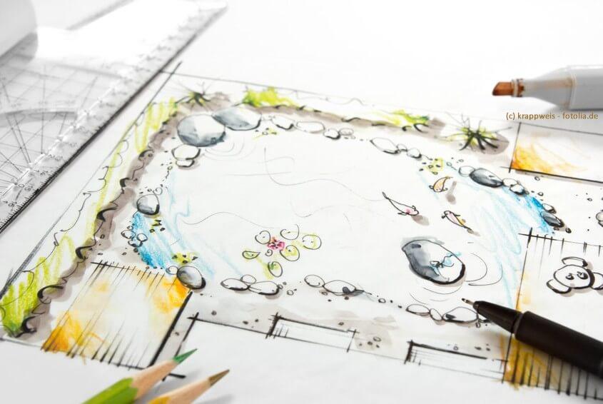 Garten und Leben sind weitgehend planbar