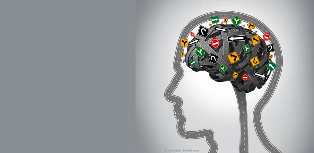 Schnelle Impulse, die im Gehirn entstehen