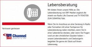 Christliche Lebensberatung von ERF Medien Schweiz