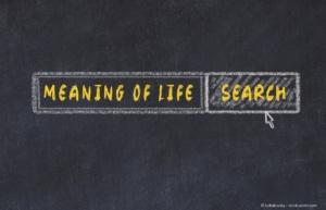 Denn Sinn des Lebens suchen und finden